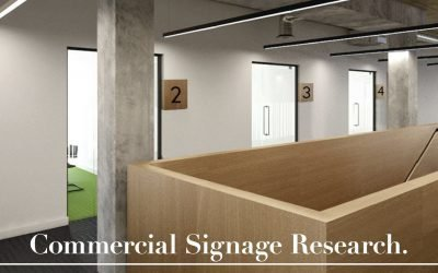 Signage Research | AALofts Design for bptw partnership