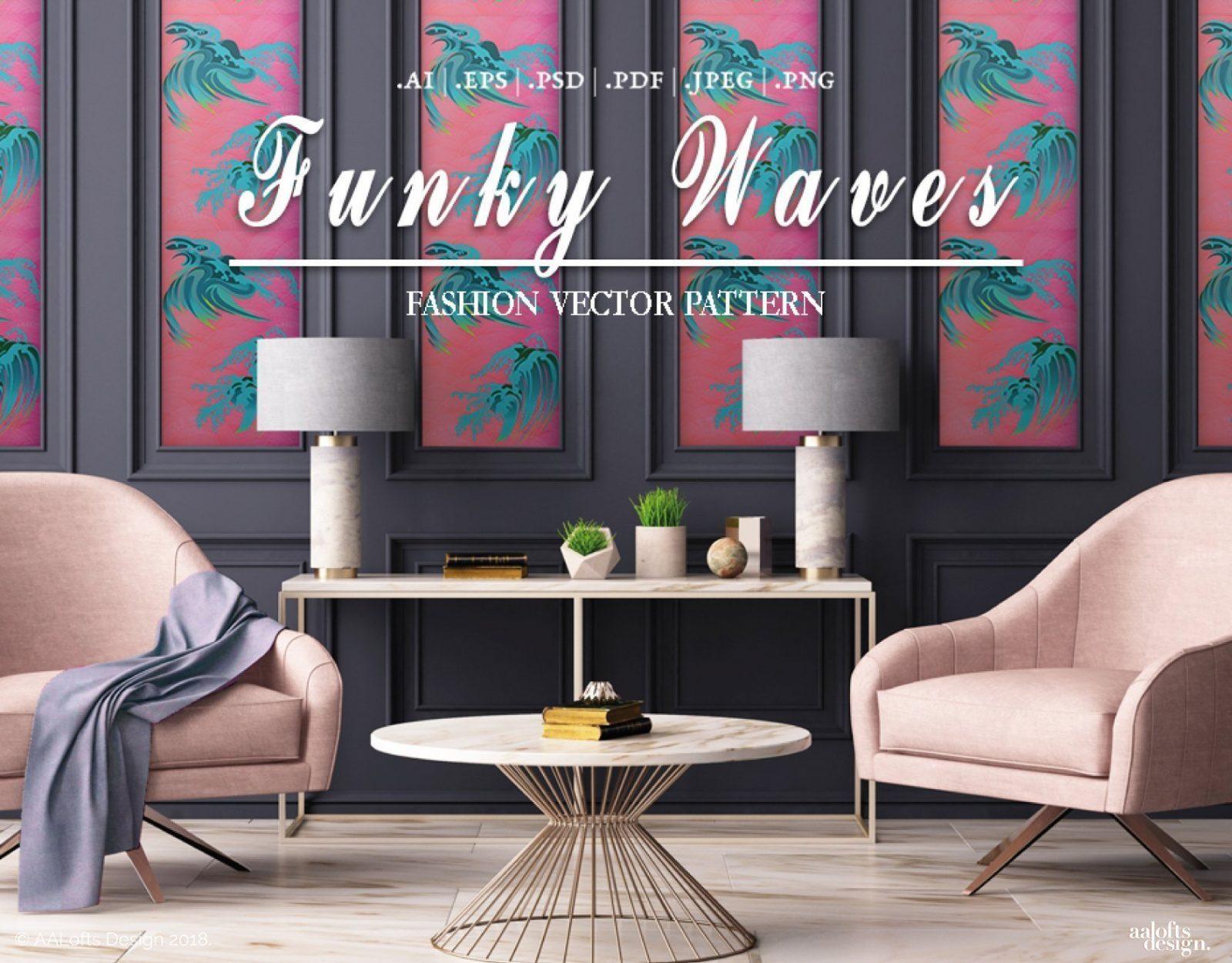 Funky Waves Thumbnail AALofts Design
