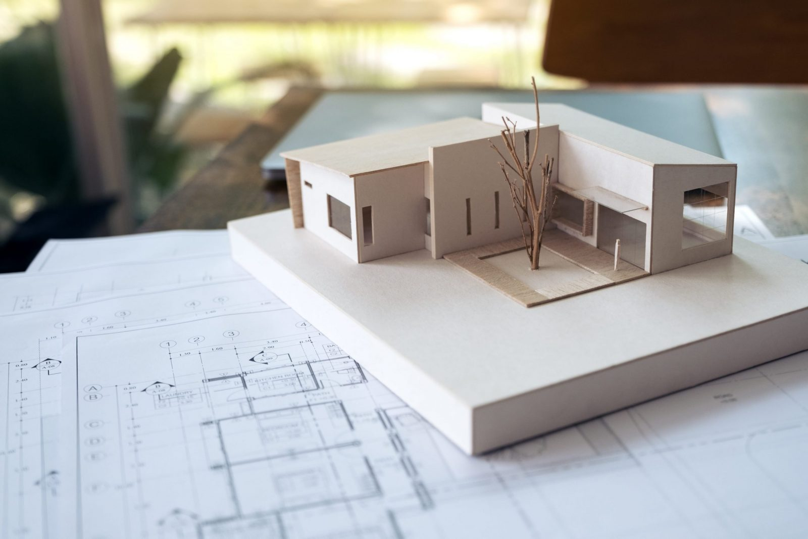 architectural model aalofts design scaled
