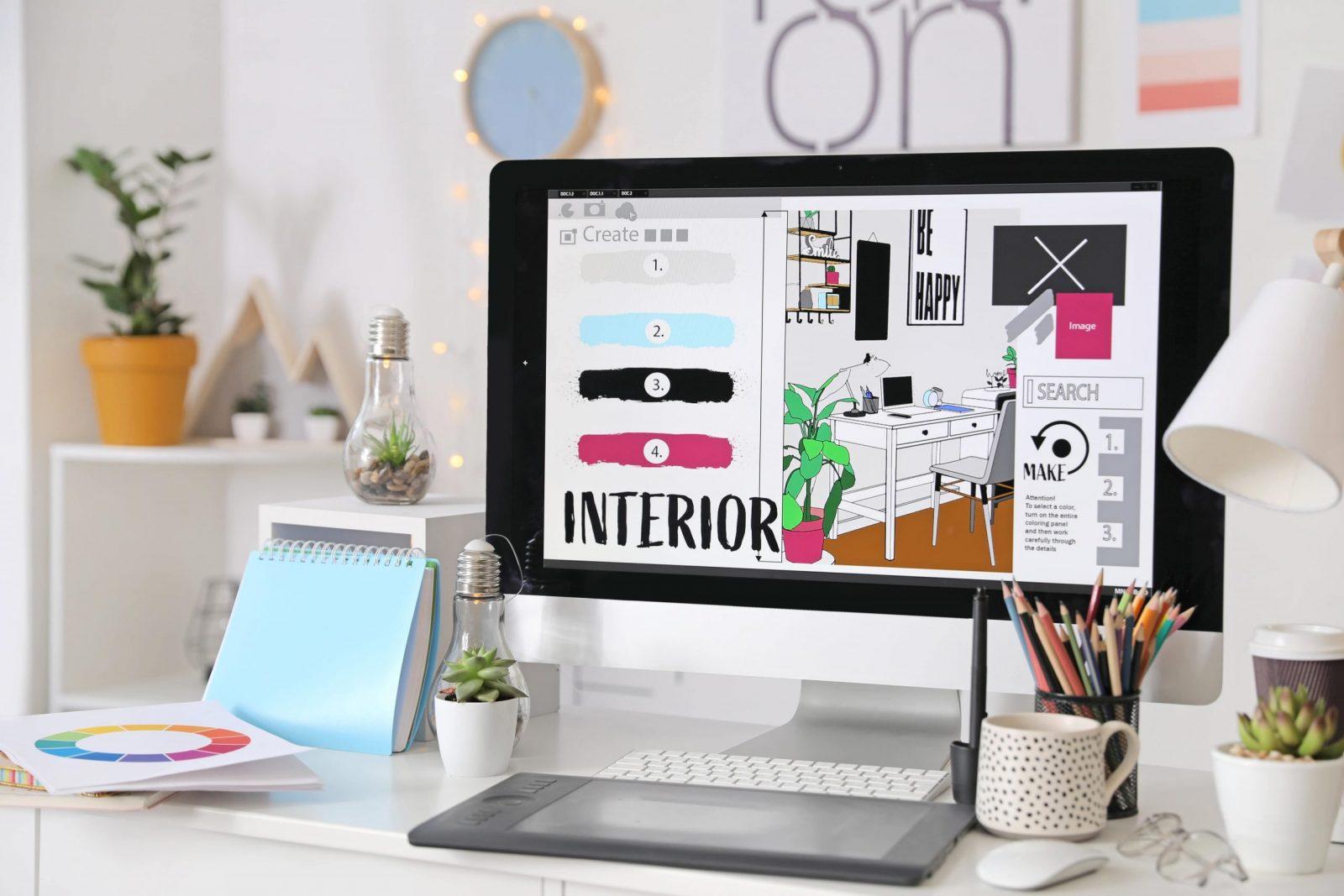 Interior Designer's iMac