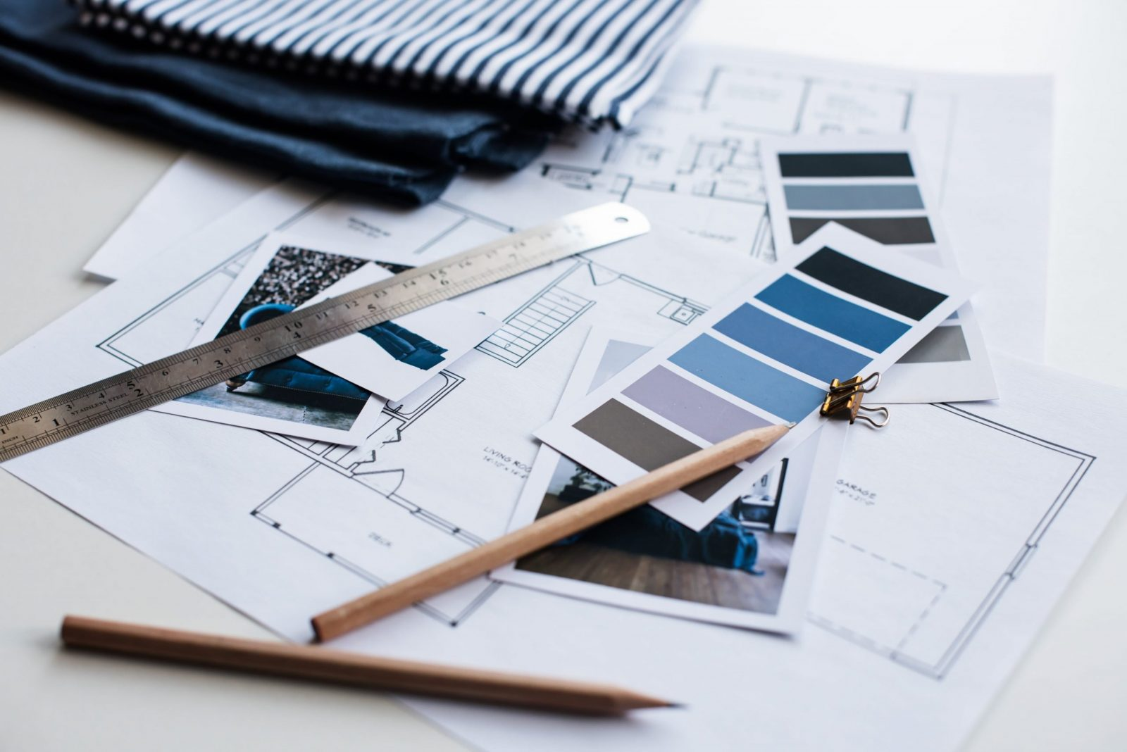 interior designers desk swatches plans aalofts design scaled