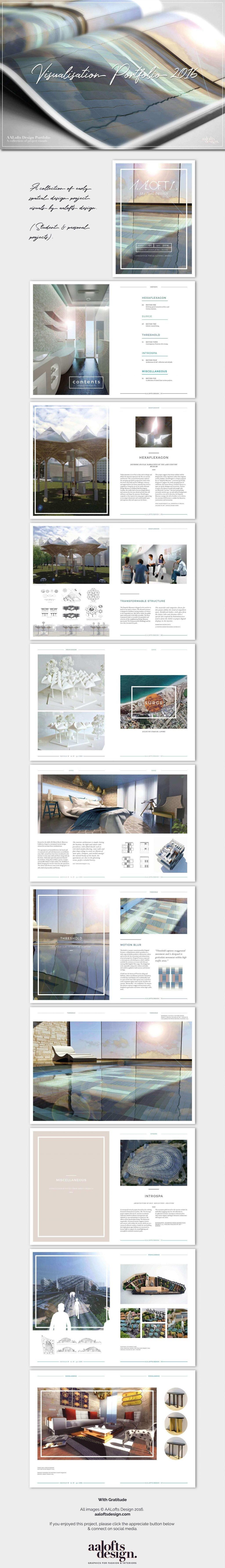 Visualisation Portfolio by AALofts Design