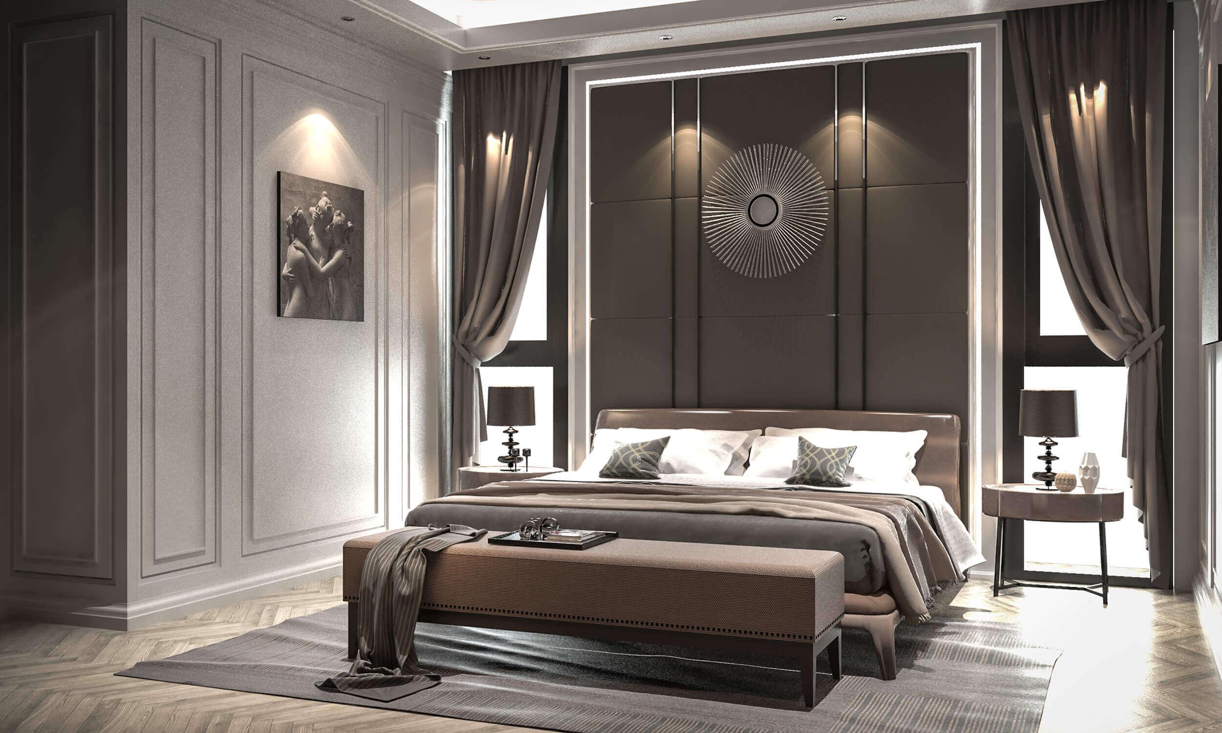 Brown Luxury Interior Design
