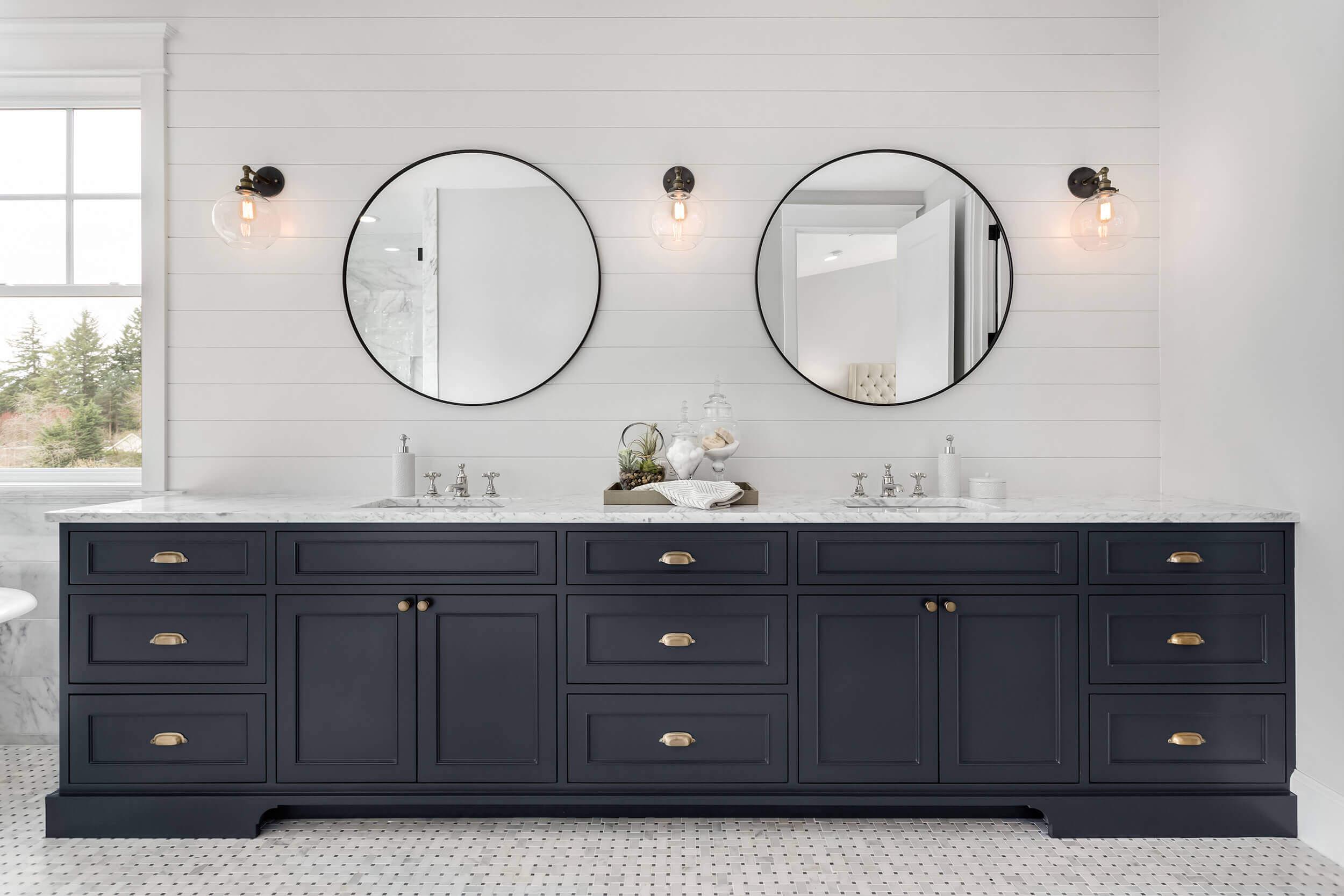 Classic Double Bathroom Vanity